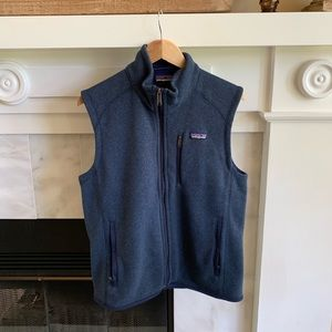 Men's Navy Blue Patagonia Vest Size Medium